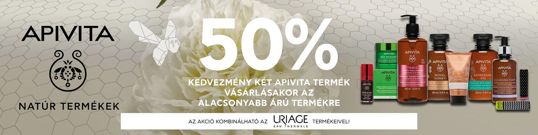 Apivita - Uriage 50% akció