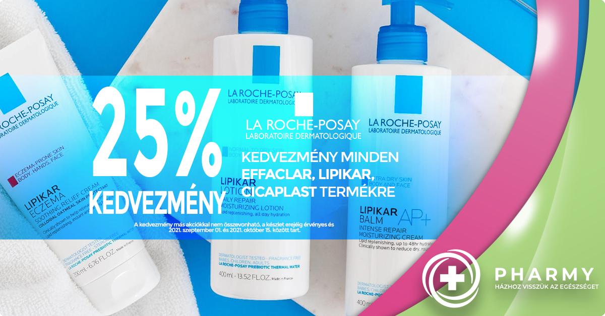 La Roche-Posay akció - 25%
