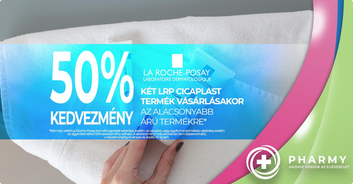 La Roche-Posay akció - CSAK 50%