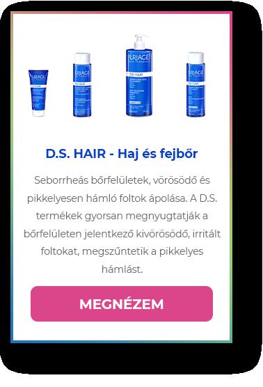 D.S. HAIR - Haj és fejbőr