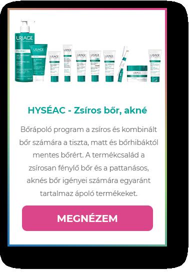 HYSÉAC - Zsíros bőr, akné