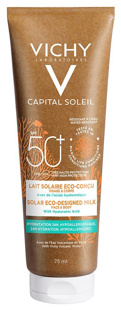 Vichy Capital Sol. környezetbarát naptej SPF50 75ml