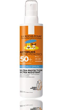 La Roche-Posay Anthelios DP napvédő spray gyermek FF 50+ 200ml