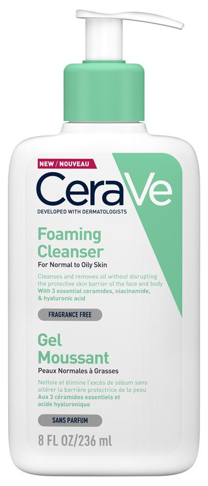 CeraVe Habzó tisztító gél arcra és testre 236ml