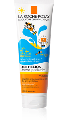 La Roche-Posay Anthelios DP napvédő gél gyermek wet FF 50+ 250ml