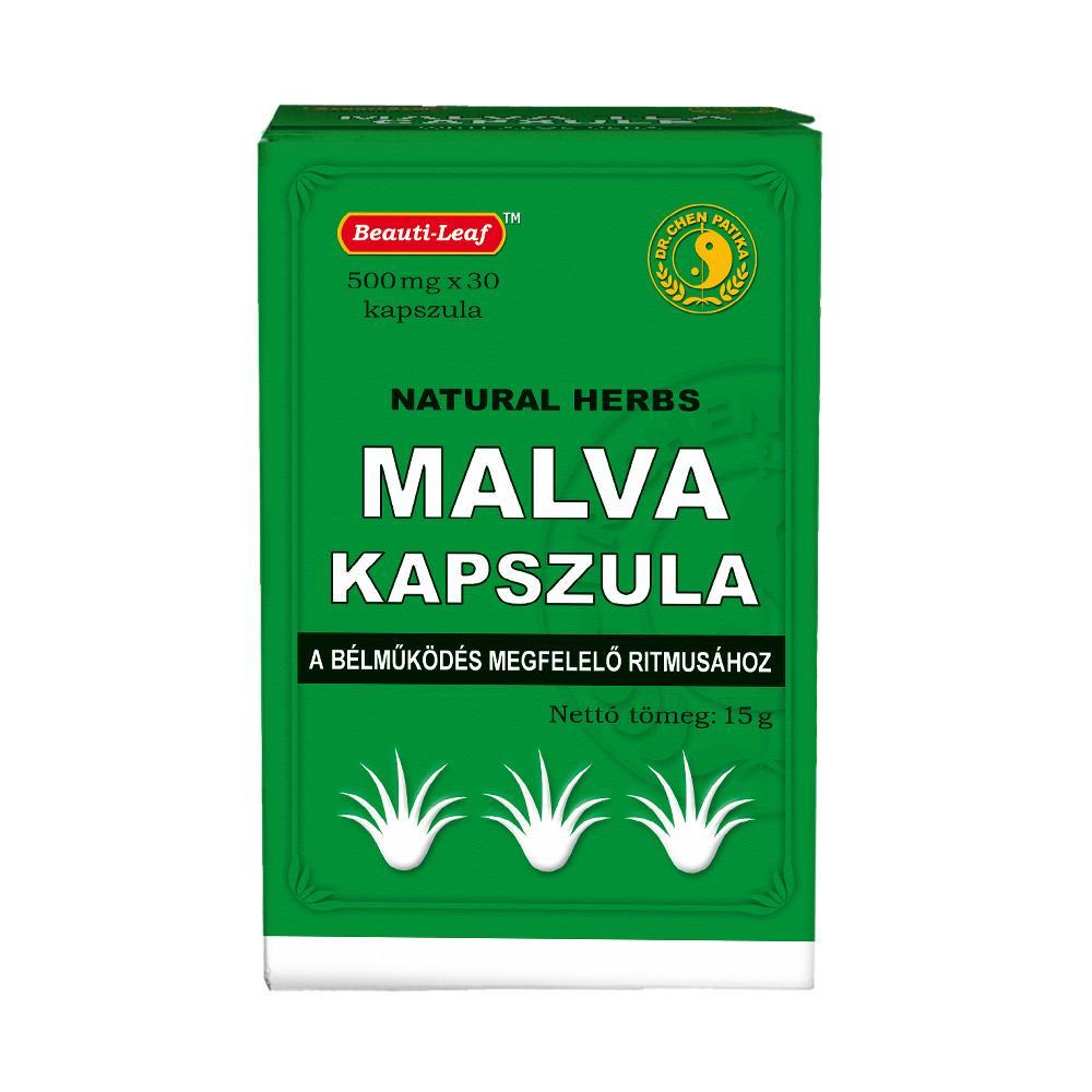 Dr.Chen Mályva tea 500 mg kapszula 30x