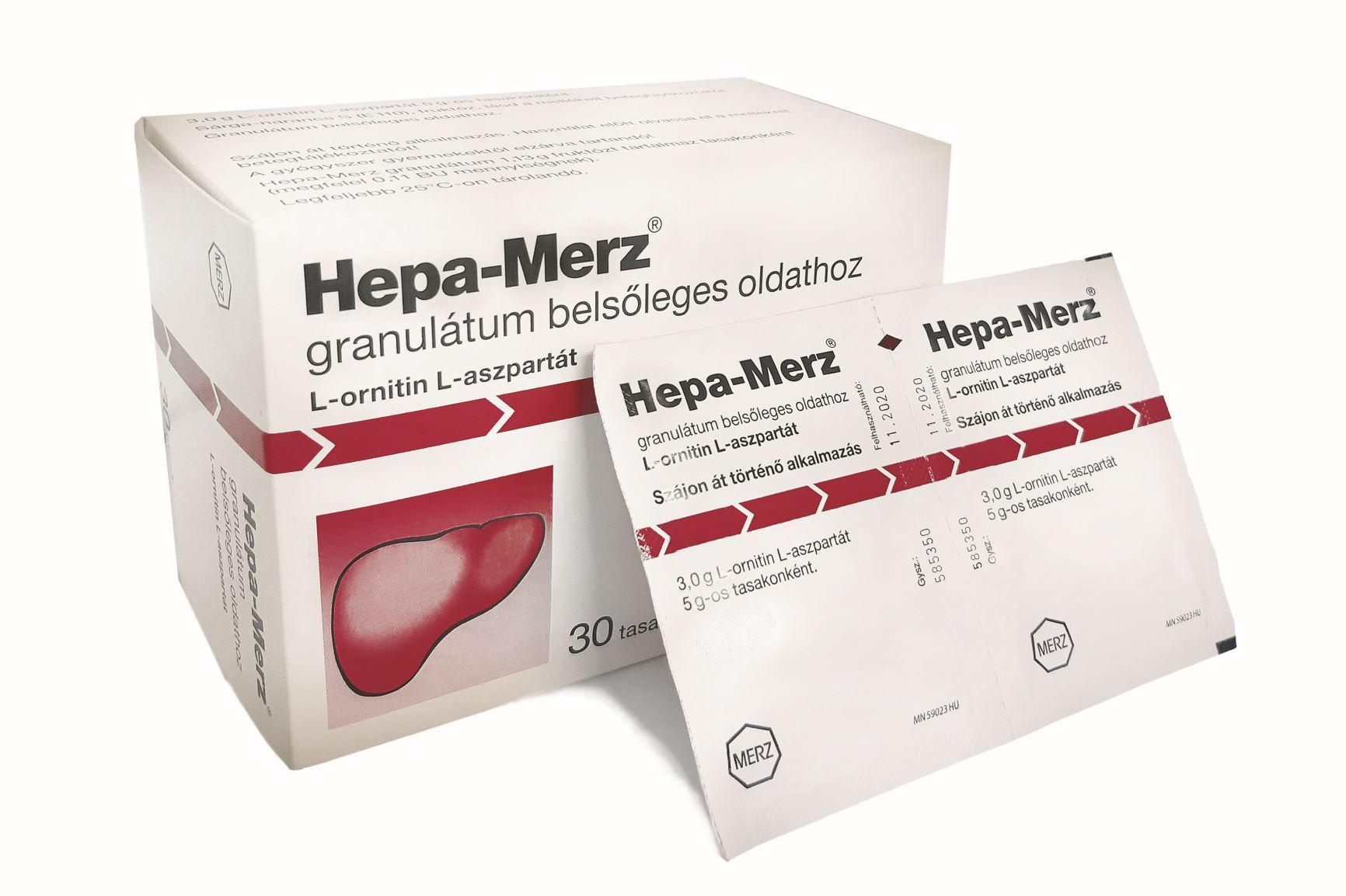 Hepa-Merz granulátum belsőleges oldathoz 30x5g