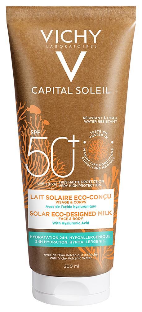 Vichy Capital Sol. környezetbarát naptej SPF50 200ml