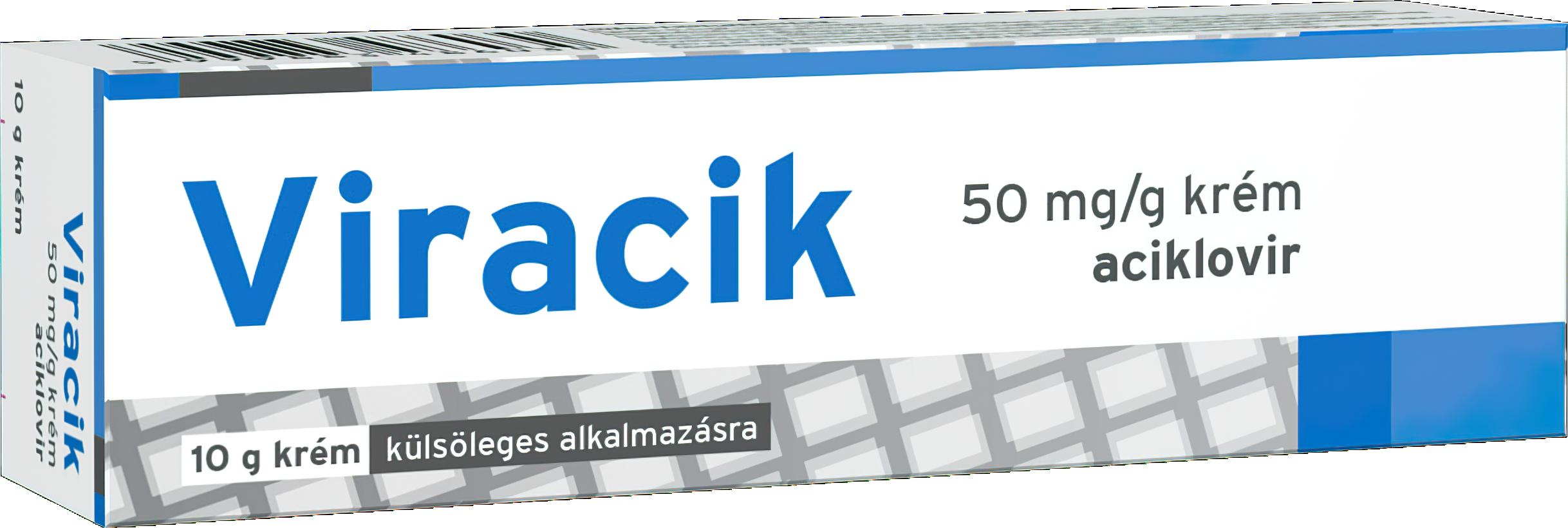Viracik 50 mg/g krém 1x10g