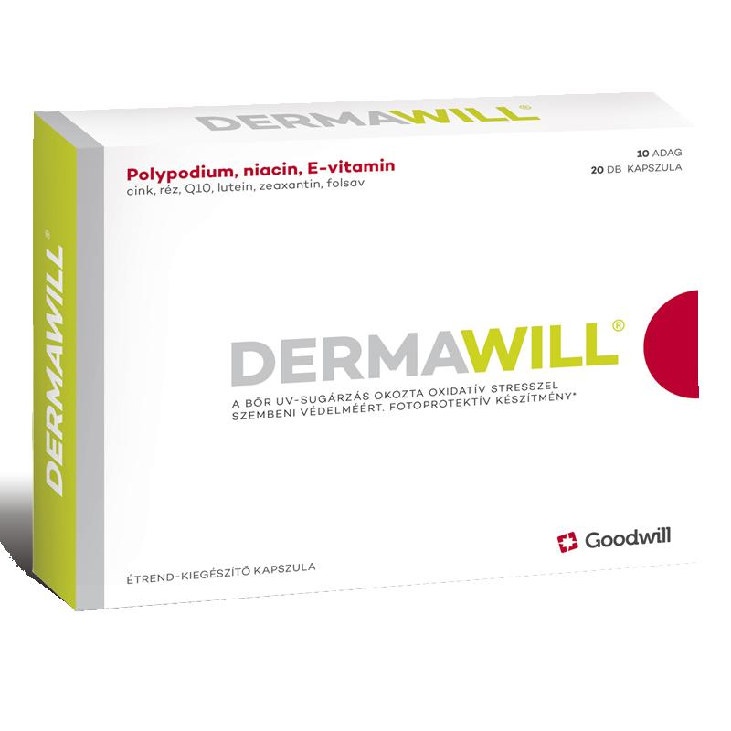 Dermawill étrendkiegészítő kapszula 20x