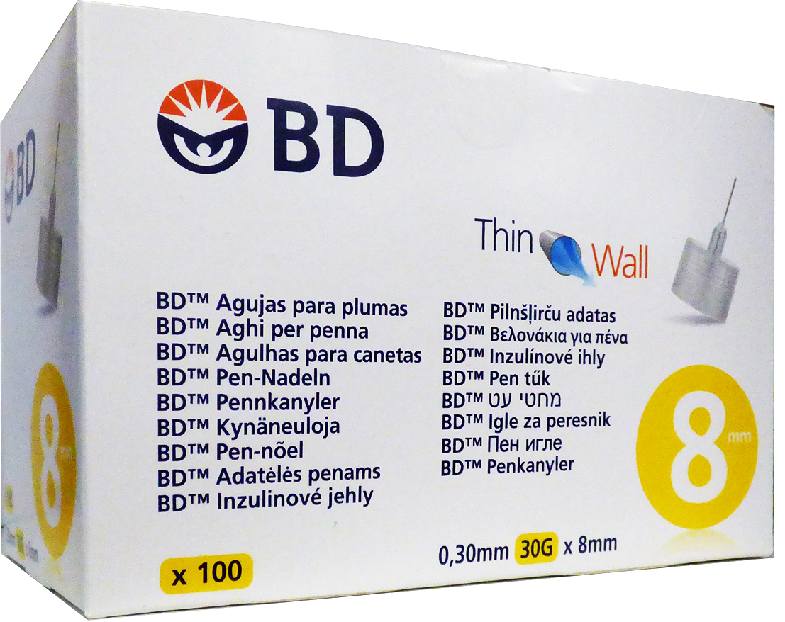 BD Micro-Fine Pen inj. tű 30G 100x