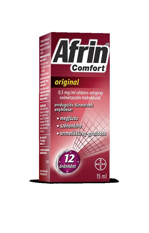 Afrin Comfort original 0,5 mg/ml oldatos orrspray 1x15ml