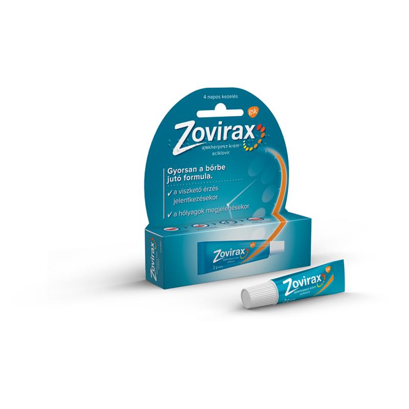 Zovirax ajakherpesz krém 1x2g