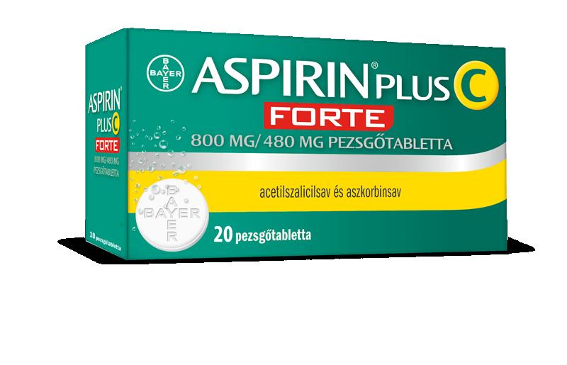 Aspirin Plus C Forte 800 mg/480 mg pezsgőtabletta 20x