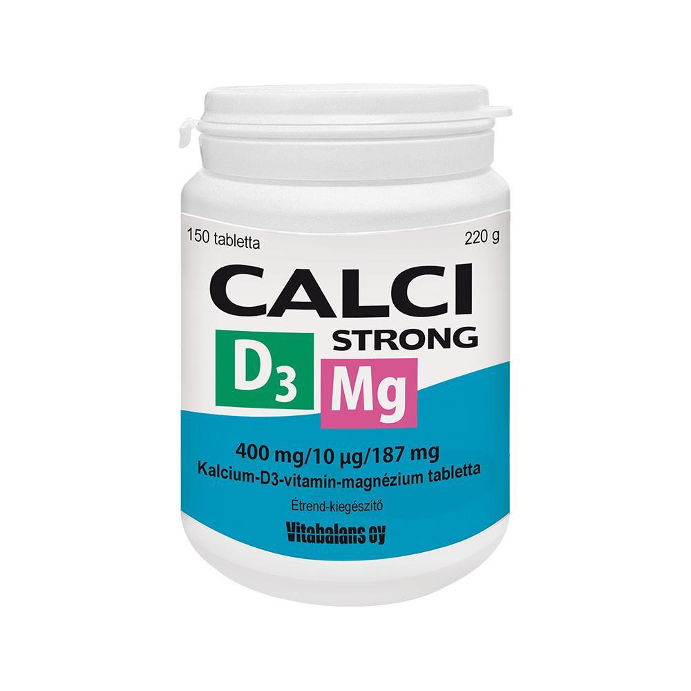 CalciStrong+Mg+D3 tabletta 150x