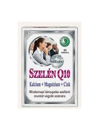 Dr.Chen Q10 Szelén Calcium Mg Cink tabletta 30x