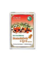 Dr.Chen Homoktövis + Q10 677 mg lágyzselatin kapsz 30x