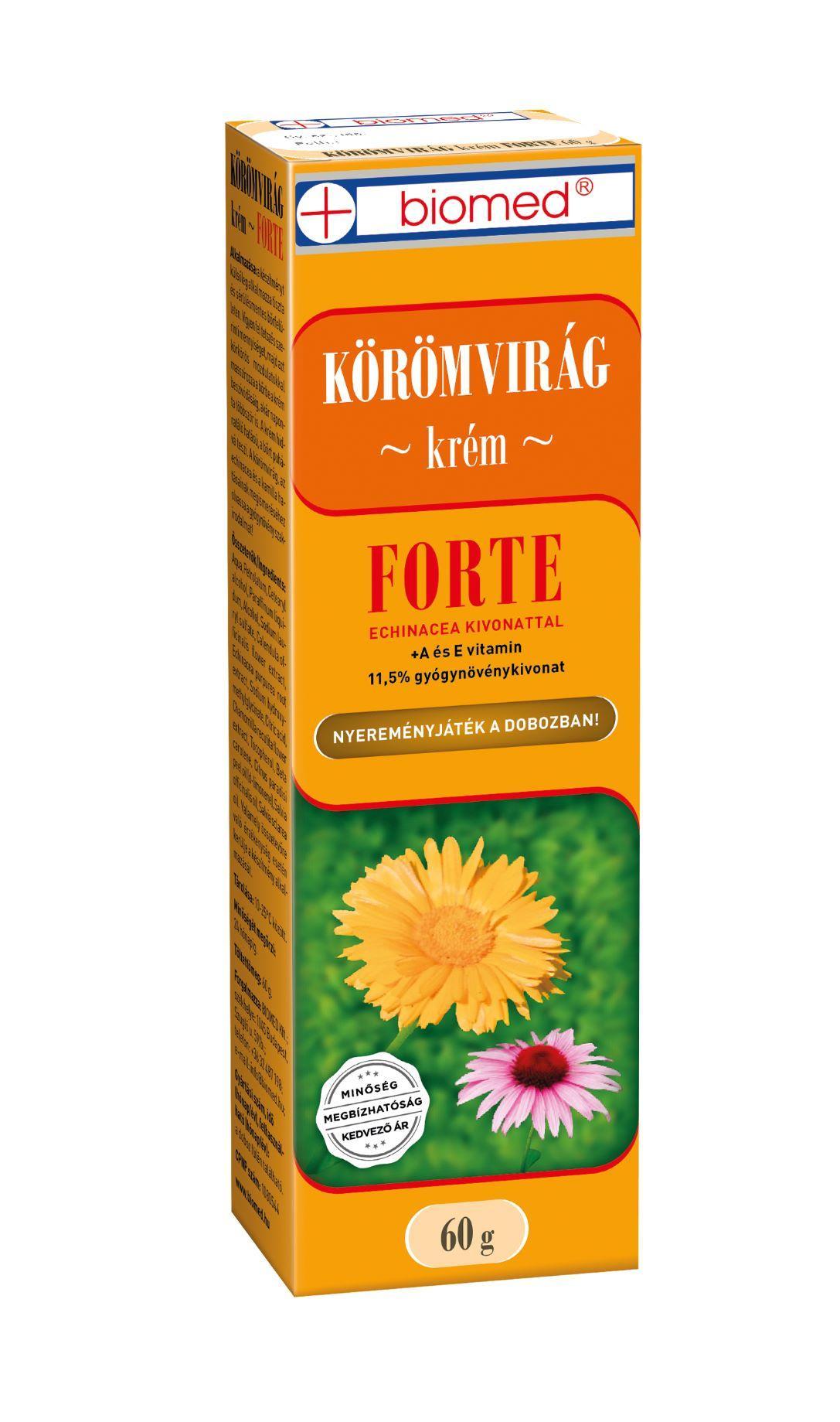 Biomed Körömvirág krém Forte 60g