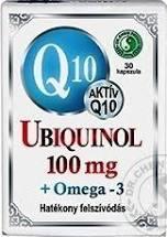Dr.Chen Q10 100 mg ubiquinol Omega-3 kapszula 30x