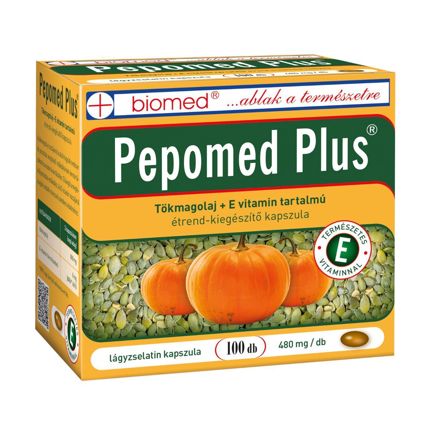 Biomed Pepomed Plus 300 mg kapszula 100x