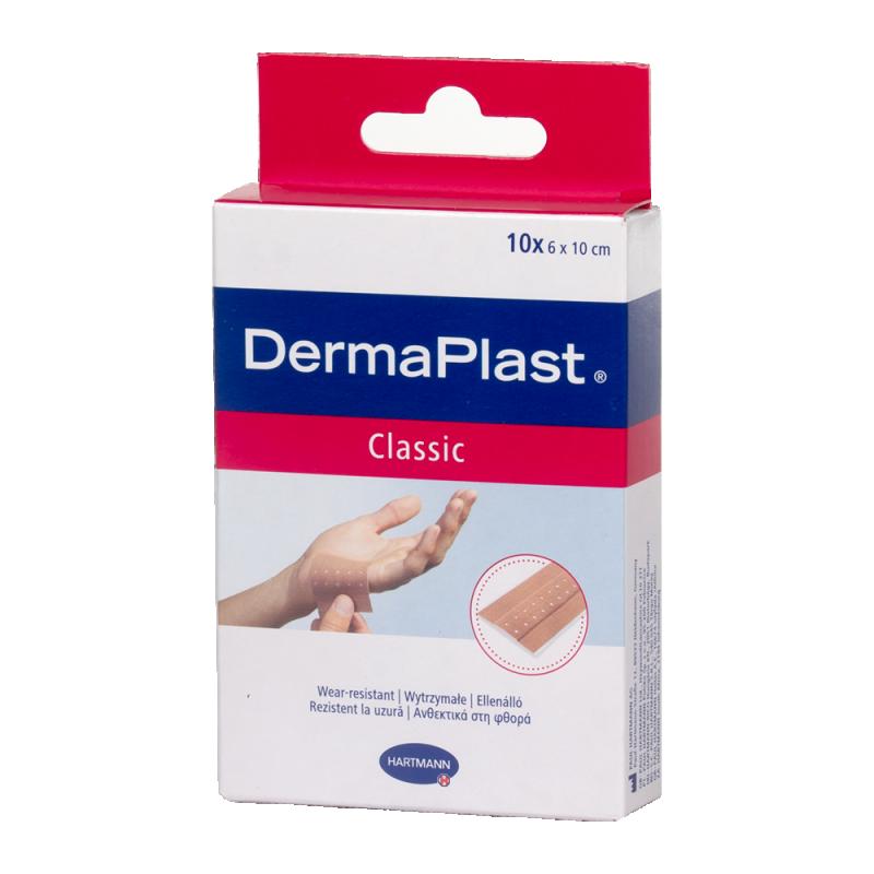 DermaPlast Classic sebtapasz  6cmx10cm 10x