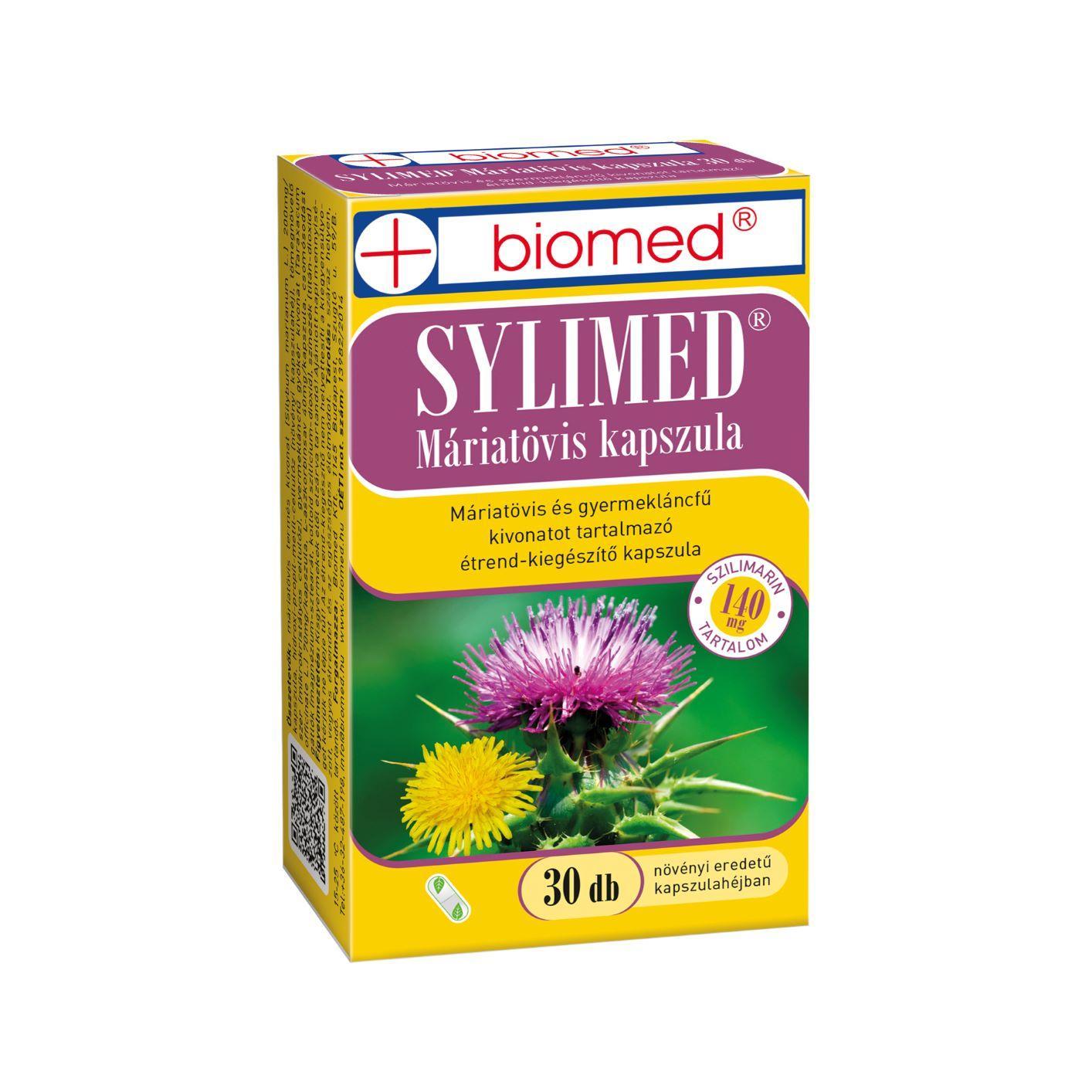 Biomed Sylimed Máriatövis kapszula 30x