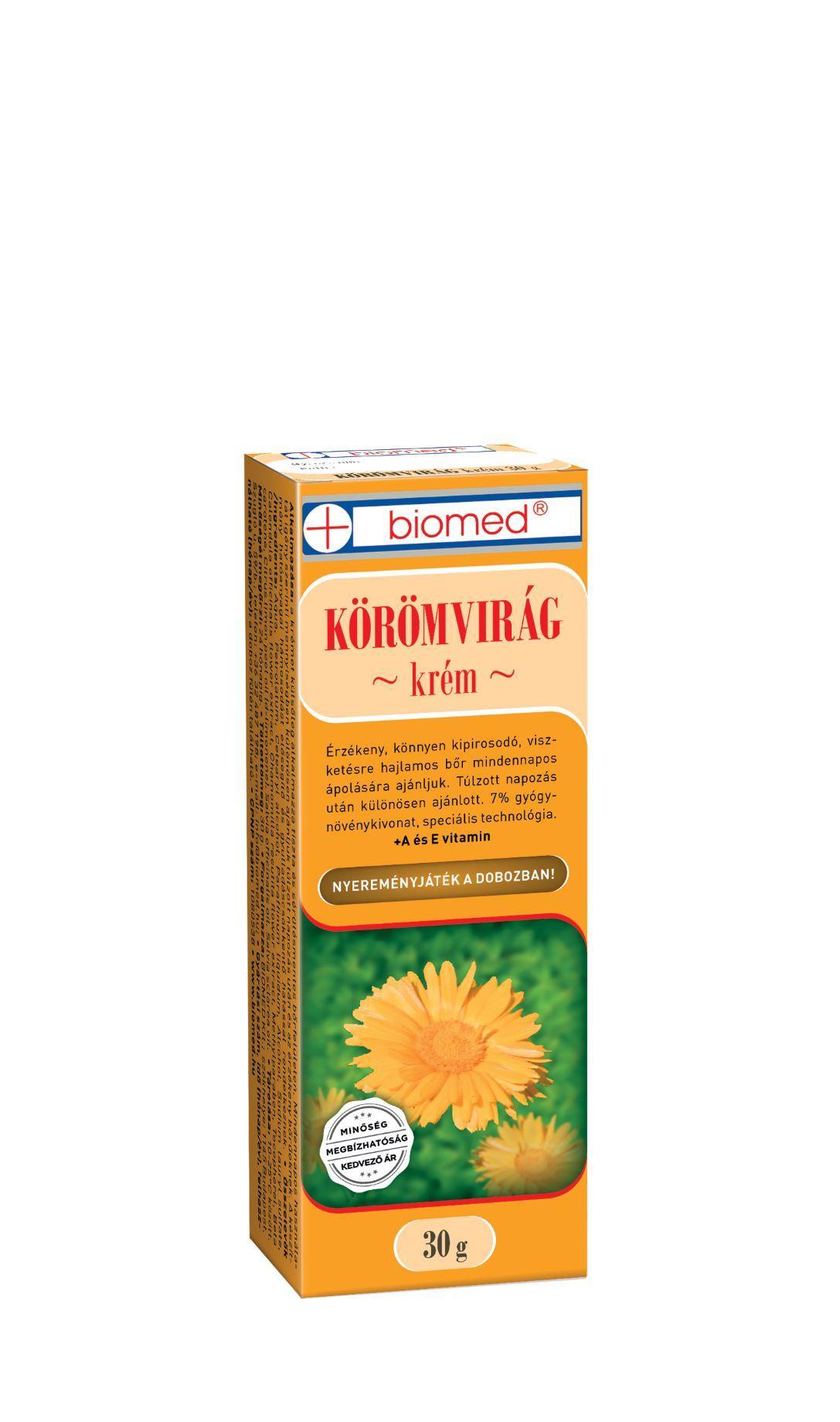 Biomed Körömvirág krém 30g