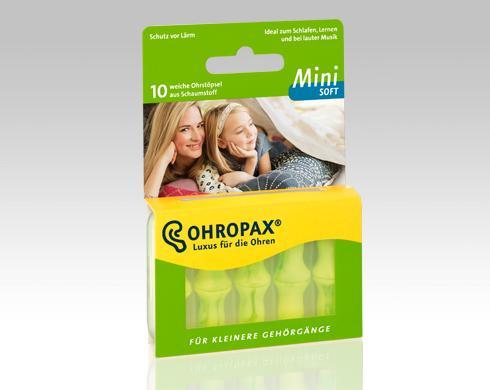 Füldugó OHROPAX Soft Mini 10x