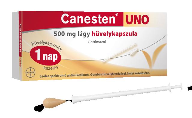 Canesten Uno 500 mg lágy hüvelykapszula 1x
