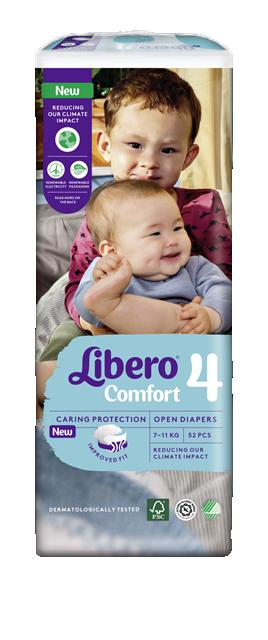 Libero Comfort (4) 7-14kg 52x