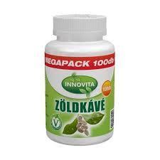 BioCo InnoVita Zöldkávé tabletta megapack 100x