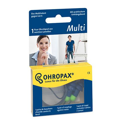Füldugó OHROPAX műanyag MultiPlux pár