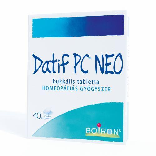 Datif PC Neo bukkális tabletta 40x bubor.