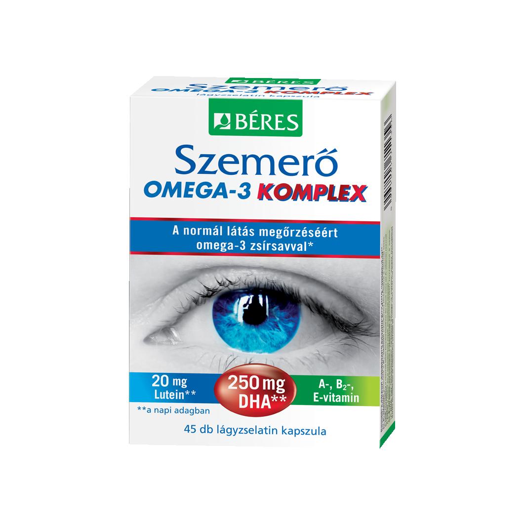 Béres Szemerő omega-3 komplex kapszula új 45x