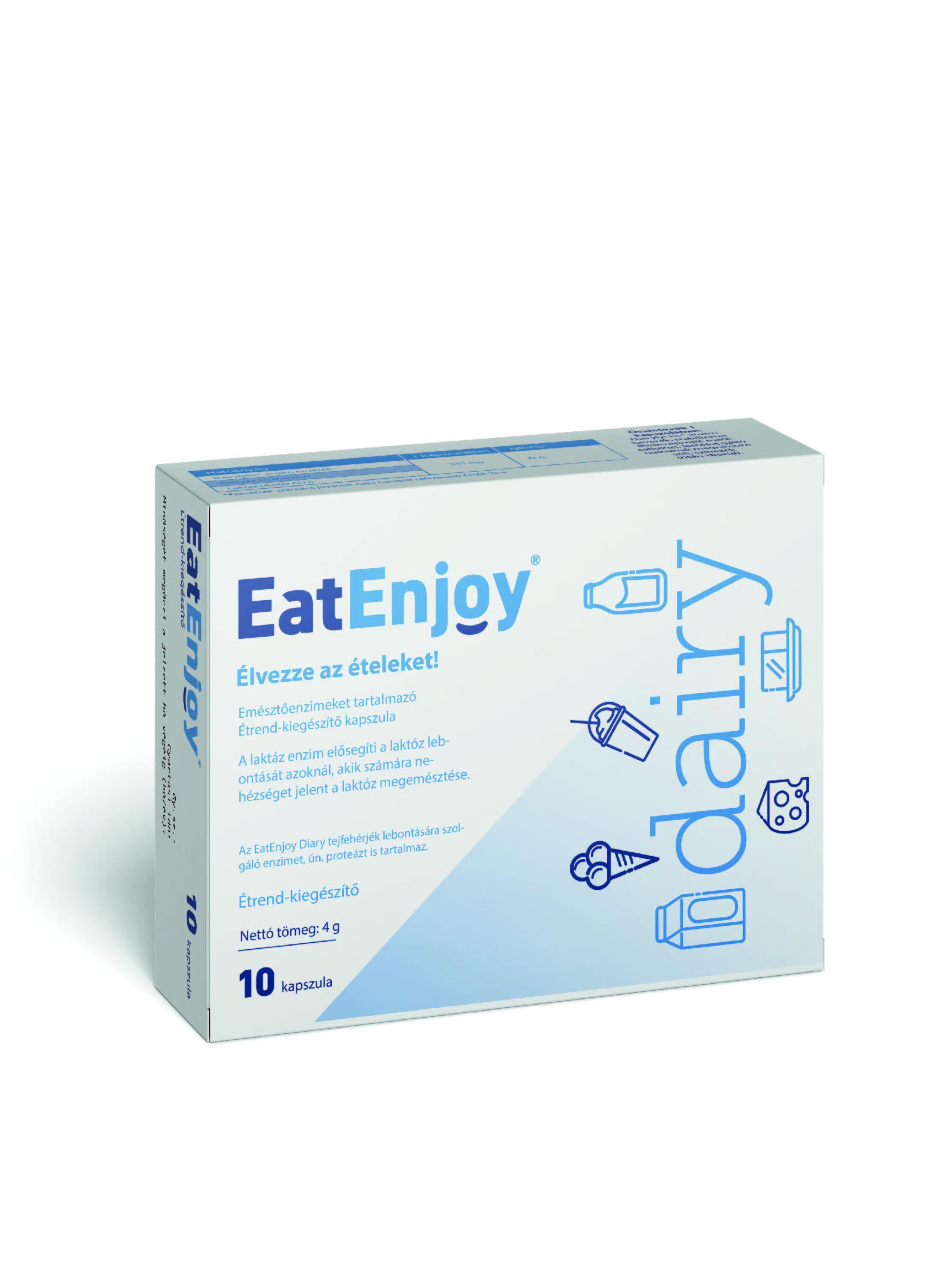 EatEnjoy emésztőenzimek étrendkiegészítő kapszula 20x