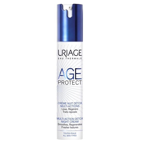 Uriage Age Protect Detox ránctalanító krém éjsz. 40ml