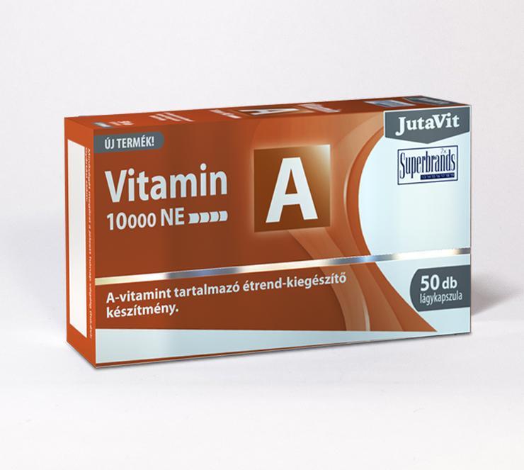 Jutavit A-vitamin 10000NE lágy kapszula 50x