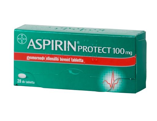 Aspirin Protect 100 mg gyomornedv-ellená.bev.tabl. 28x