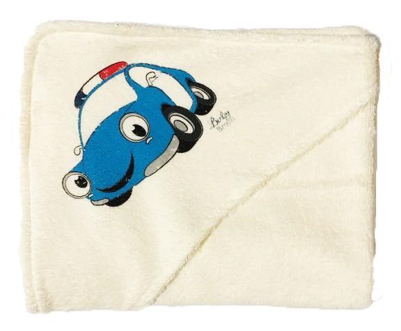Baby Bruin  fürdőlepedő kapucnis 80x120