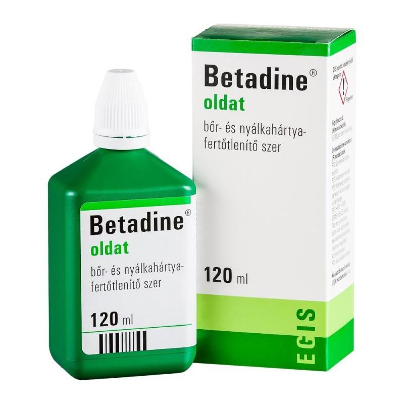 Betadine oldat (ÁFA 5%-ÚJ) 120ml