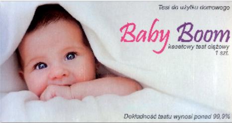 Baby Boom terhességi teszt kazettás 1x