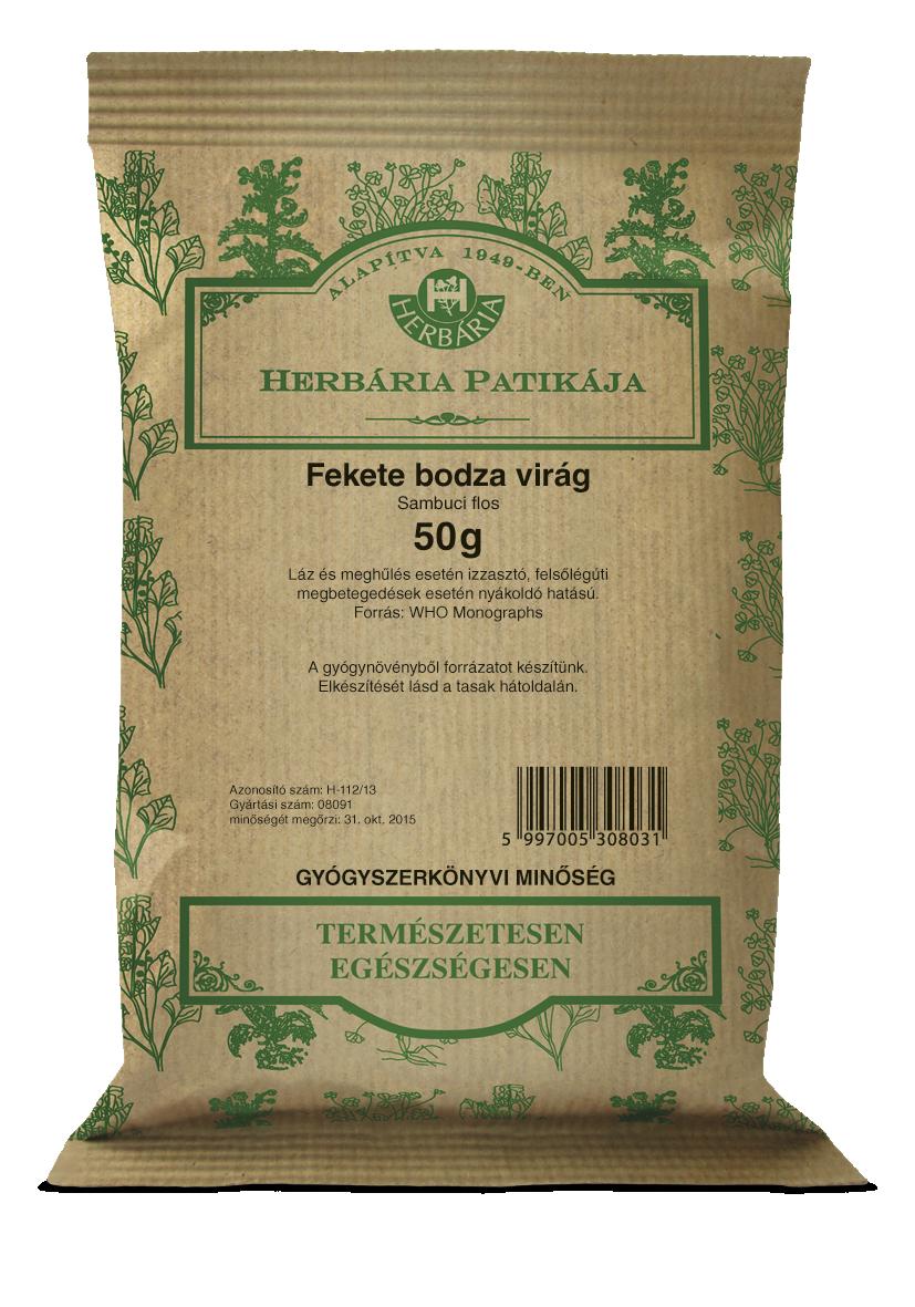 Bodzavirág  HERBÁRIA 50g