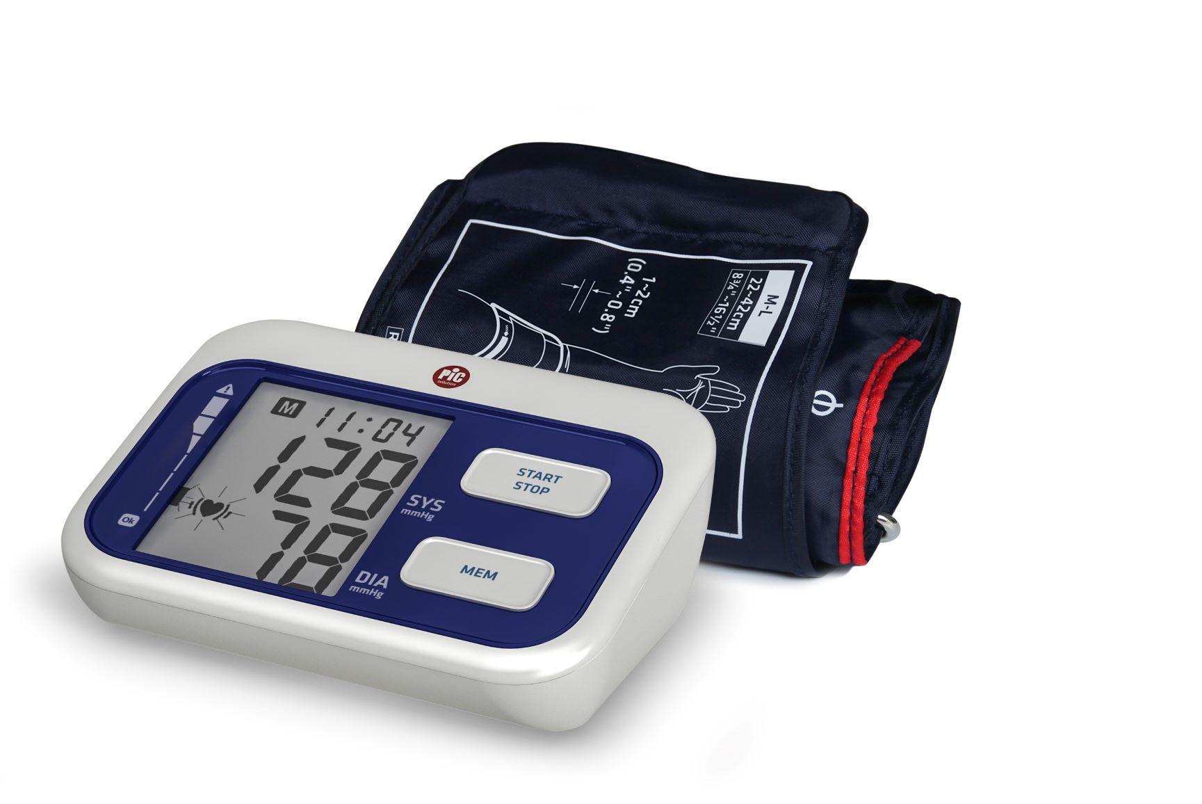 Vérnyomásmérő aut.PIC Cardio Simple felkaros 1x