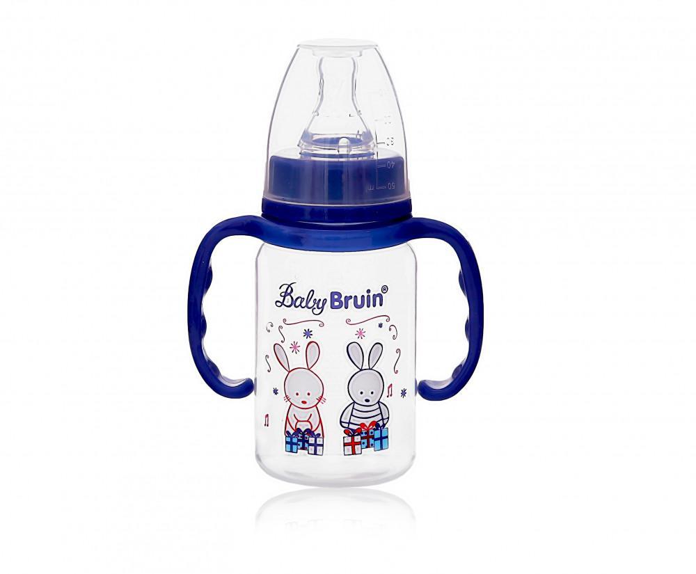 Baby Bruin cumisüveg PP BPA mentes fogóval 120ml 1x