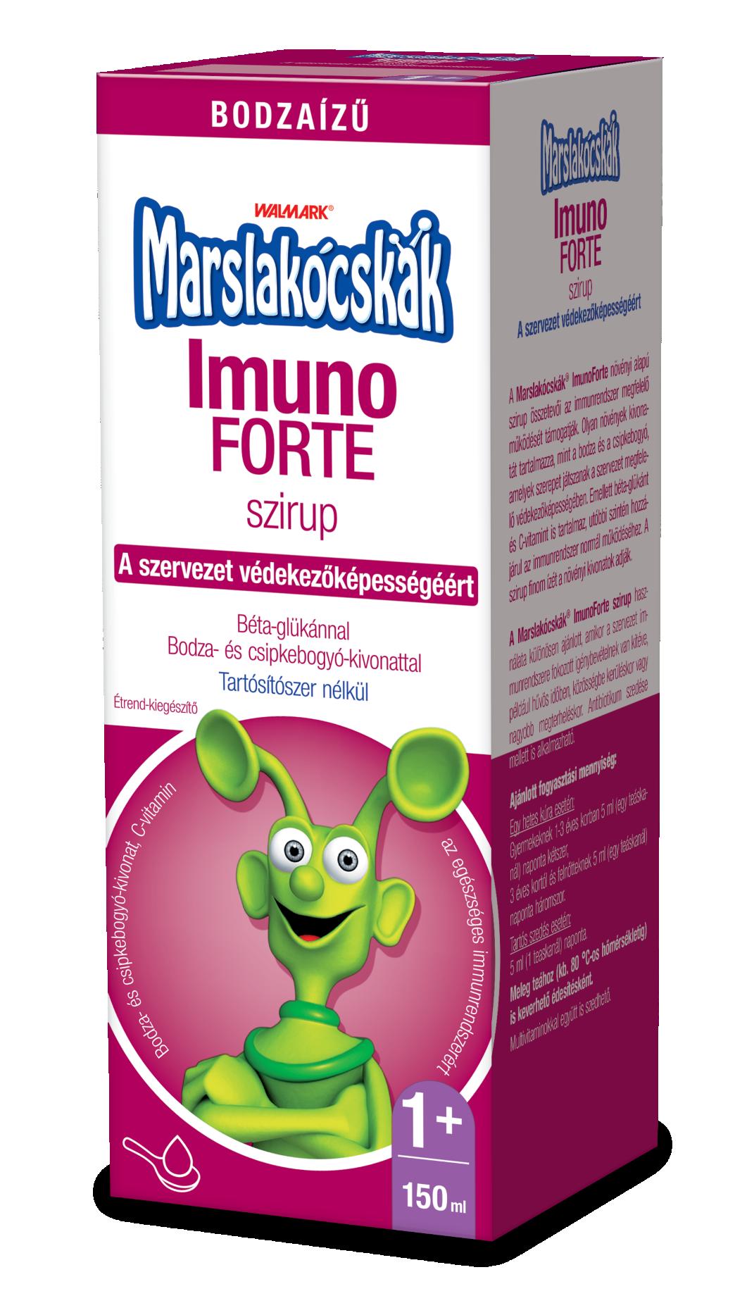 Marslakócskák Imuno Forte Szirup bodza íz 150ml