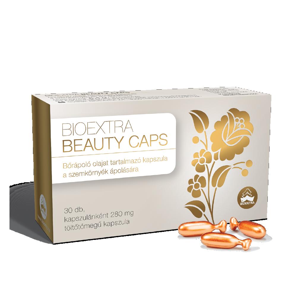 Bioextra Beauty Caps bőrápoló olaj kapsz.külsőleg 30x