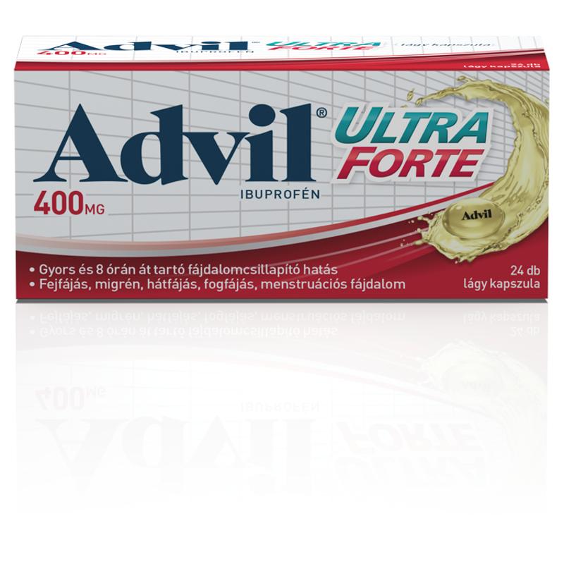 Advil Ultra Forte lágy kapszula 24x