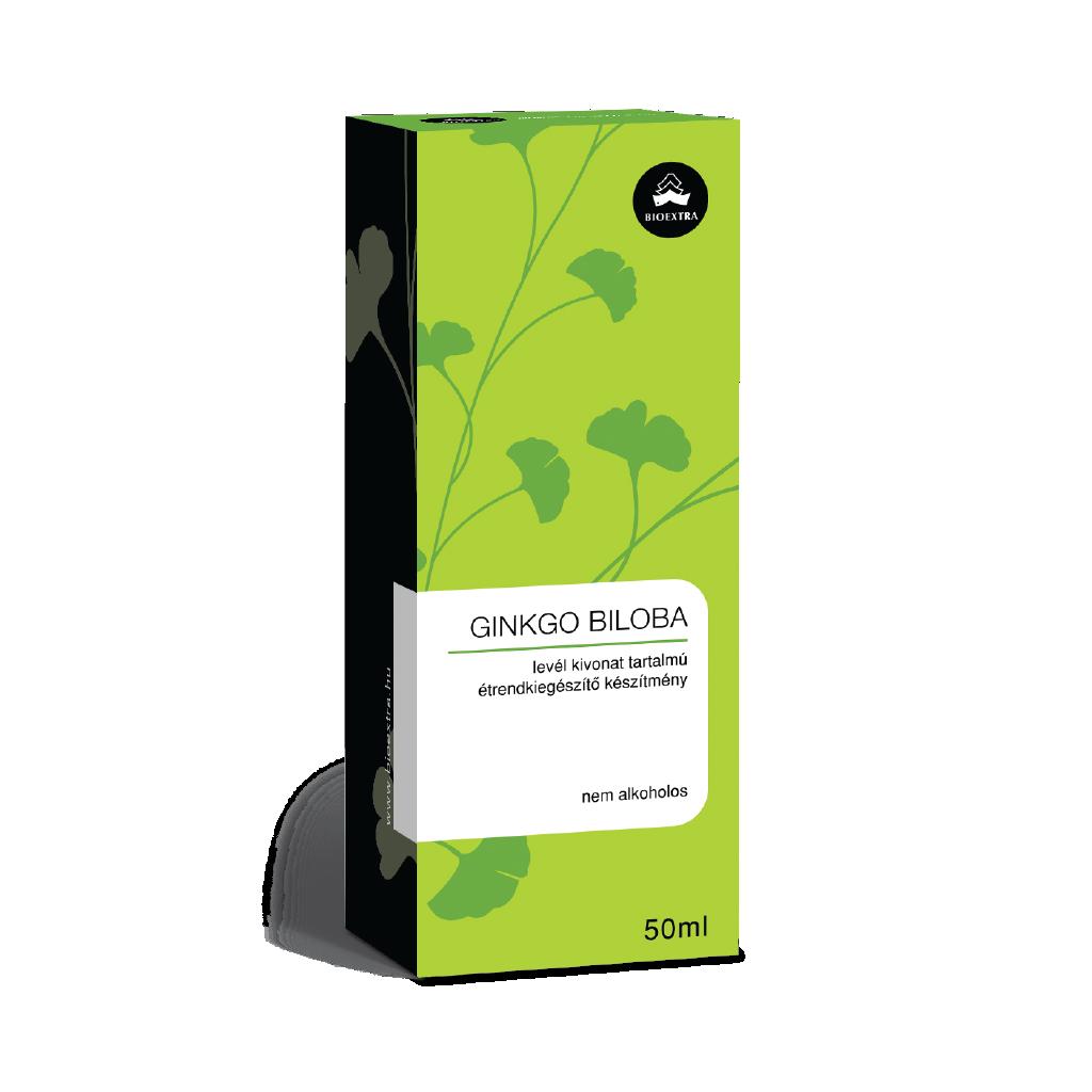 Bioextra Ginkgo biloba levél kivonat 50ml