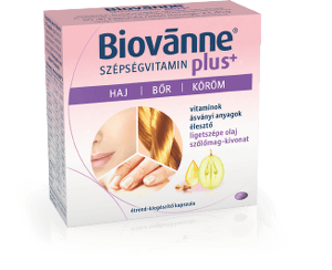 Biovanne Plus szépségvitamin kapszula 30x