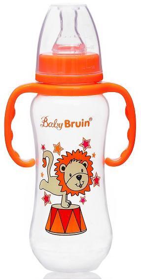 Baby Bruin cumisüveg PP műany.karcsú,fogóval 240ml 1x
